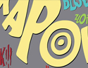 Batman '66 1966 TV Series Onomatopoeia Illustration